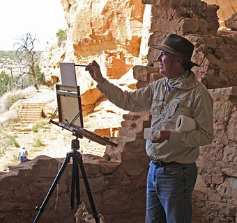 Chavez-painting-Mesa-Verde.-Photo-by-artist-Jerry-Cohoe